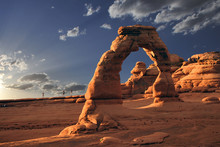 Arches National Park In Utah D...