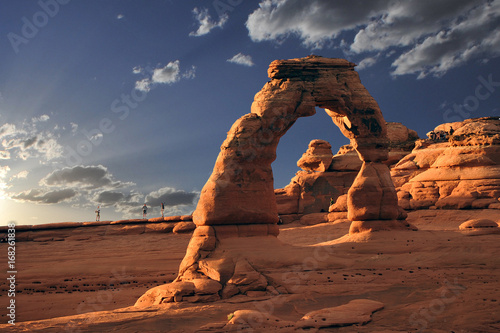 Fotografering Arches National Park in Utah delicate arch