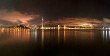 Night View Of Macao Sightseein...