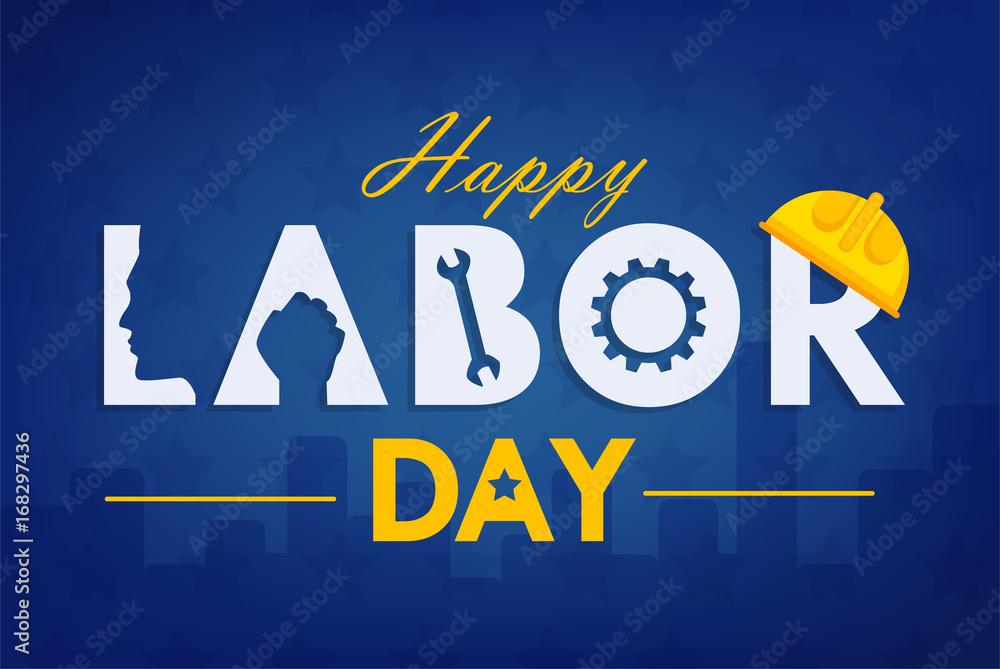 Fototapeta Labor day background design