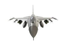 Front View Of F16, American Mi...
