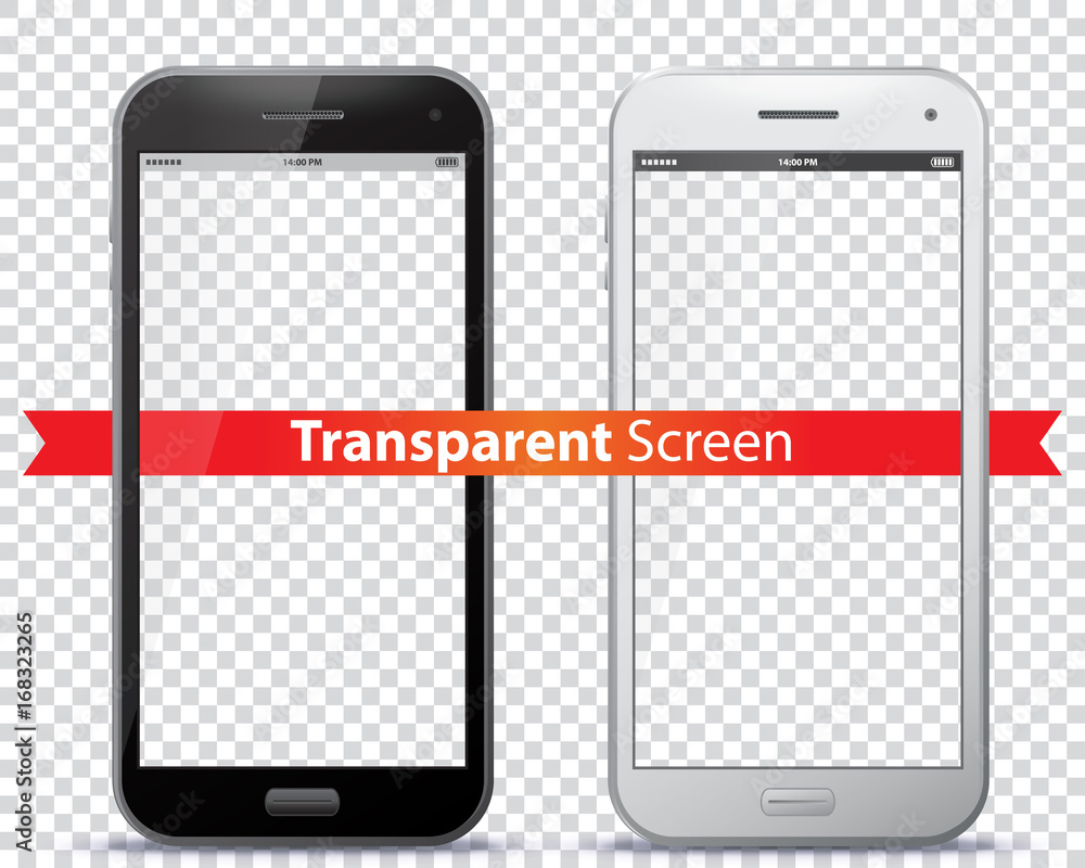 Fototapety, obrazy: Transparent Mobile Phone Screens