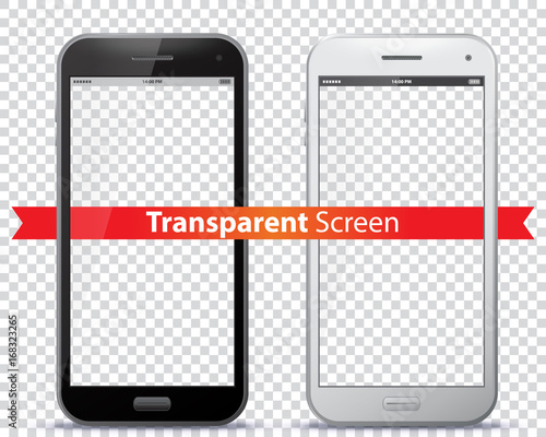 Photo Transparent Mobile Phone Screens