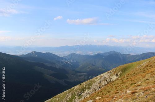 Foto op Canvas Heuvel Hills