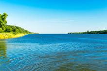 Landscape View With Dead Vistula (Polish: Martwa Wisla) From Ferry To Sobieszewo Island.