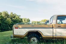 Old Rusted Broken American Truck