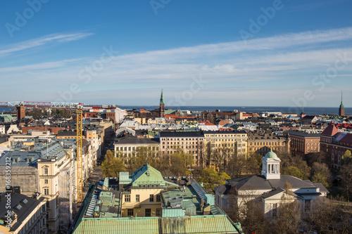 Fotografie, Obraz  Panoramic View of Helsinki City