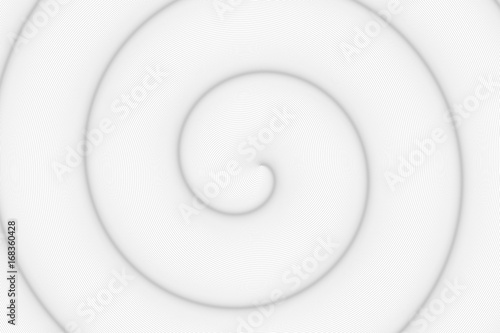 In de dag Spiraal Spirale à base de cercles