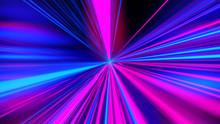 Colored Light Streaks Accelera...