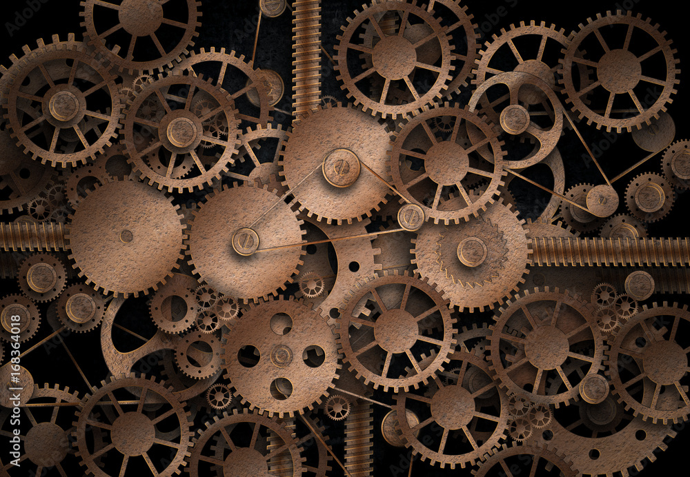 Fototapety, obrazy: Complex machinery