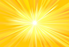 Sun Light Rays Vector Image
