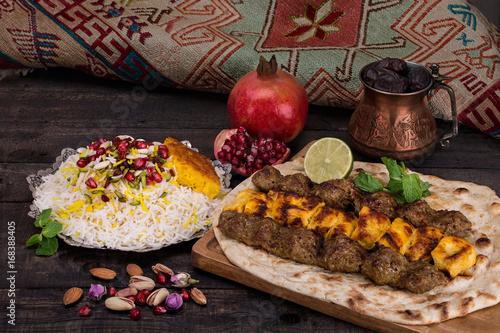 Fotografie, Obraz  Traditional Persian Dish