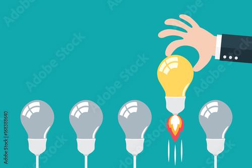 Choose best idea concept.