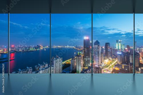 Fotografie, Obraz  Manhattan office city view