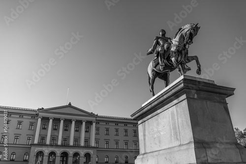Photo  Palais royal Oslo.