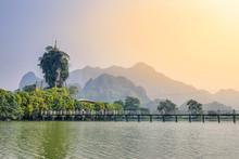 Kyauk Kalat Pagoda; Mawlamyine, Mon State, Myanmar