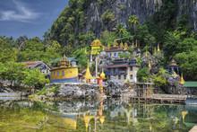 Bayin Nyi (Begyinni) Temple , Hpa-An Town, Kayin State, Myanmar