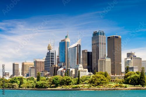 Canvas Prints Sydney Sydney city skyscrapers