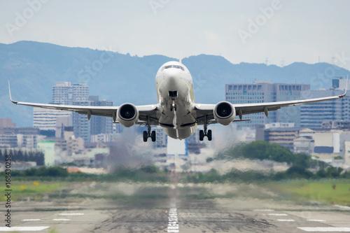 Fotografie, Obraz  Boeing 737 taking off