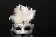Pretty White And Silver Veneti...