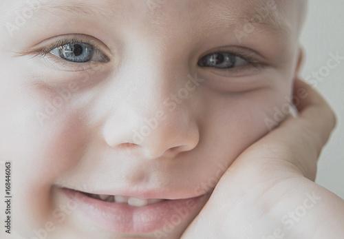 Zdjęcie XXL twarz dziecka