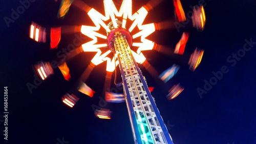 Foto op Canvas Amusementspark Luna park - luci ed emozioni