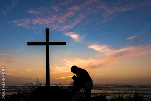 Photo  In Deep Prayer