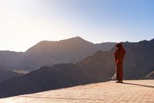 Lama (Tibetan Monk) Gazing The...