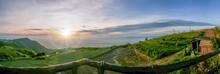 Panoramic Landscape Of Phu Tub...