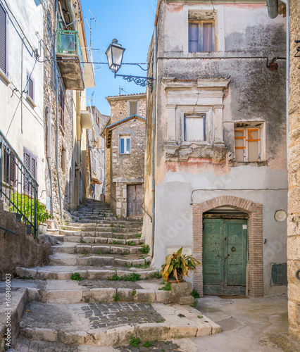 Scenic sight in Alatri, province of Frosinone, Lazio, Central Italy Wallpaper Mural