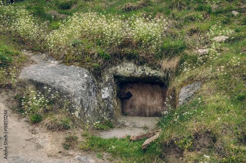 Photo  Ancient settlement of the White Croatian, Stilsko, Ukraine
