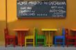 Colombia Cartagena de Indias bar terrasse