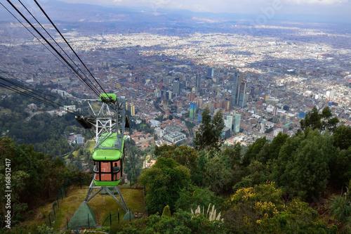 Photo Colombia Bogota Montserrate cabin