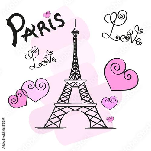 paris-vector-illustration