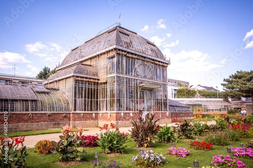 Serre du jardin des plantes, Nantes – kaufen Sie dieses Foto und ...