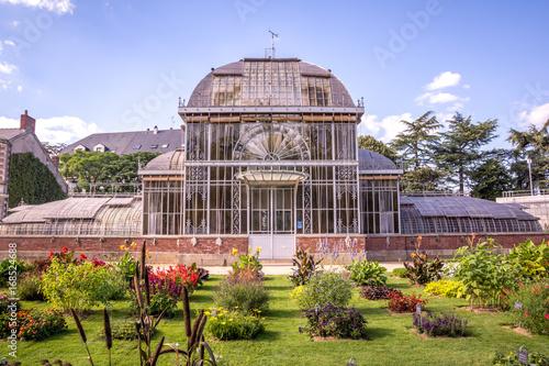Serre du jardin des plantes, Nantes - Buy this stock photo and ...