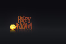 Glowing Pumpkin Candle With A ...