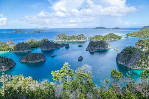 Tuinposter Indonesië Paradise islands - Raja Ampat
