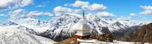 Panoramic View Of Annapurna Range, Nepal