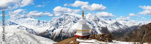 Fotografie, Tablou Panoramic view of Annapurna range, Nepal