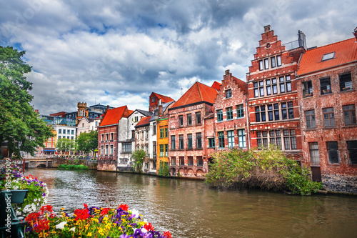 Canals of Brugge, Belgium