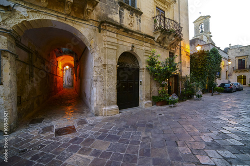 Fotografie, Obraz  Galatina Town in Salento - Old Town - Italy
