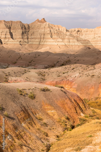 Fotografía  Geology Rock Formations Badlands National Park South Dakota
