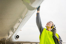 Male Airport Worker