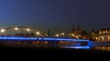 Fototapeta Londyn - Opole nocą