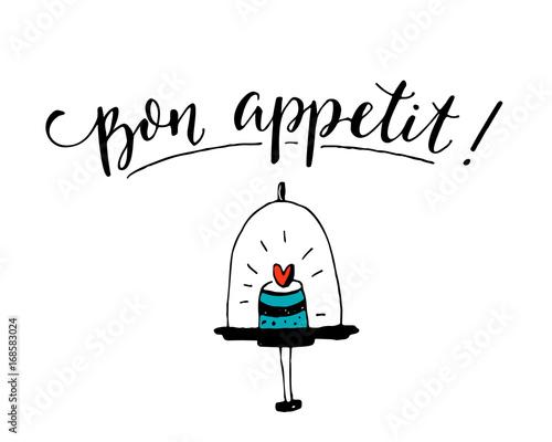 Obraz na plátně Bon appetit