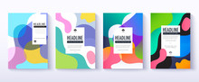 Fluid Color Covers Design. Tra...