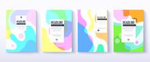 Fluid Color Covers Design. Tra...