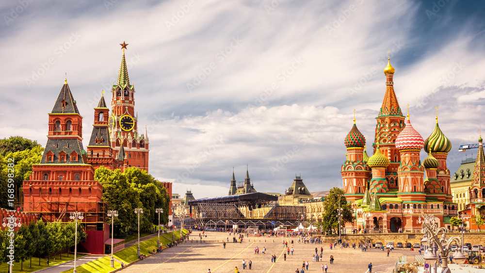 Fototapety, obrazy: Red Square in Moscow