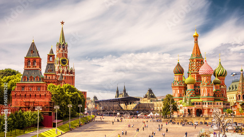Wall Murals Moscow Red Square in Moscow